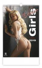 Girls Exclusive - nástěnný kalendář 2019