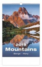 Hory - nástěnný kalendář 2019