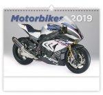 Motorbikes - nástěnný kalendář 2019