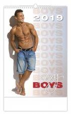Sexy Boys - nástěnný kalendář 2019
