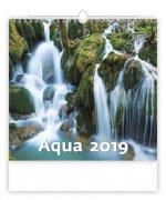 Aqua - nástěnný kalendář 2019