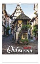 Old Street - nástěnný kalendář 2019