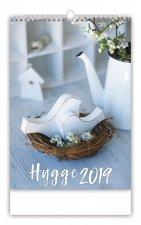 Hygge - nástěnný kalendář 2019