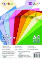 Papier kolorowy Gimboo A4 100 sztuk