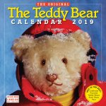 2019 the Teddy Bear Calendar Wall Calendar