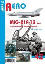 MiG-21F-13 v československém vojenském letectvu 4. díl