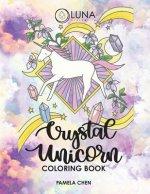 Crystal Unicorn Tarot Coloring Book