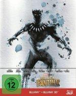 Black Panther 3D, 2 Blu-ray (Steelbook)