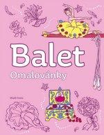 Balet omalovánky
