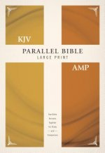 KJV, Amplified, Parallel Bible, Large Print, Hardcover, Red Letter
