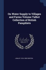 ON WATER SUPPLY TO VILLAGES AND FARMS VO
