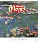 Claude Monet 2019, 48- nástěnný kalendář 2019