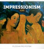 Impresionismus 2019, 4- nástěnný kalendář 2019