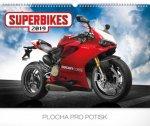 Superbikes 2019, 48 x- nástěnný kalendář 2019