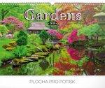 Zahrady 2019, 48 x 33- nástěnný kalendář 2019