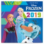 Poznámkový kalendář Frozen – Ledové král