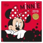Poznámkový kalendář Minnie 2019