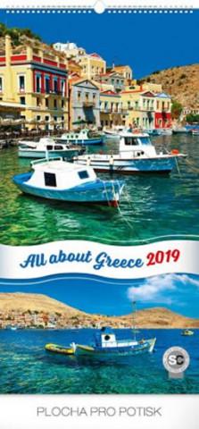 Zaostřeno na Řecko 201- nástěnný kalendář 2019