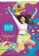 Soy Luna – Plakáty 201- nástěnný kalendář 2019