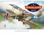 Aeroplanes – Jaroslav- nástěnný kalendář 2019