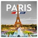 Poznámkový kalendář Paříž 2019