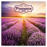Poznámkový kalendář Provence 2019 voňavý