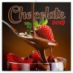 Poznámkový kalendář Čokoláda 2019 voňavý