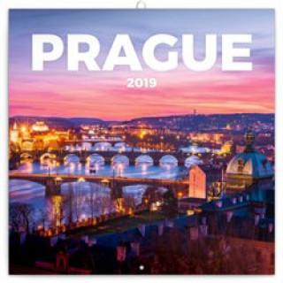 Praha nostalgická 2019 - poznámkový kalendář