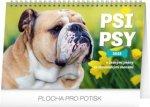 Psi – Psy CZ/SK 2019, 23- stolní kalendář 2019