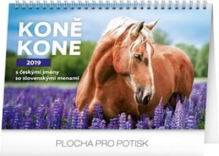 Koně – Kone CZ/SK 2019,- stolní kalendář 2019