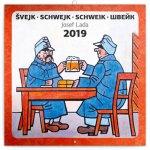 Poznámkový kalendář Švejk – Josef Lada 2