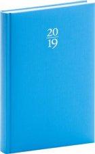 Denní diář Capys 2019, modrý, 15 x 21 cm
