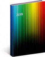 Denní diář Cambio 2019, barevný, 15 x 21