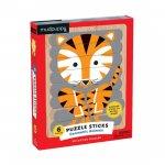 Puzzle Sticks: Geometric Animals/Skládačka: Zvířata (24 dílků)