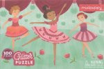 Glitter Puzzle:Ballerinas/Puzzle s glitry: Baletky (100 dílků)