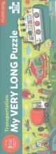 My Very Long Puzzle: Transportation/Dlouhé puzzle: Doprava (30 dílků)