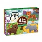 Puzzle 4 in the box:Animals/Puzzle 4 v 1: Zvířátka