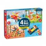 Puzzle 4 in the box:4 season/Puzzle 4 v 1: Čtyři roční období