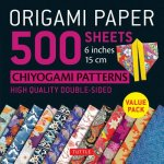 Origami Paper 500 sheets Chiyogami Designs 6 inch 15cm