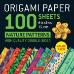 Origami Paper 100 sheets Nature Patterns 6 inch (15 cm)