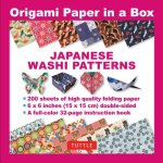 Origami Paper in a Box - Japanese Washi Patterns 200 sheets