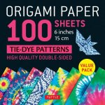 Origami Paper 100 sheets Tie-Dye Patterns 6 inch (15 cm)