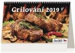 Grilování - stolní kalendář 2019
