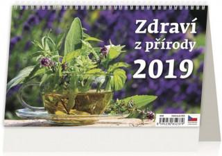 Zdraví z přírody - stolní kalendář 2019