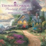Thomas Kinkade Painter of Light 2019 Mini Wall Calendar