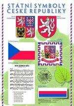Plakát - Státní symboly, svátky a výběr státních vyznamenání