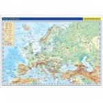 Evropa příruční mapa