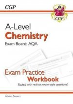New A-Level Chemistry: AQA Year 1 & 2 Exam Practice Workbook - includes Answers