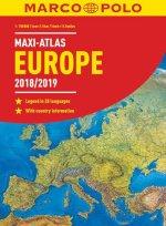 MAXI ATLAS Evropa 2018/2019 1:750 000