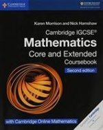 Cambridge IGCSE (R) Mathematics Coursebook Core and Extended Second Edition with Cambridge Online Mathematics (2 Years)